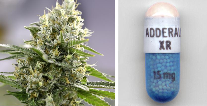 Study Reveals Cannabis Treats ADHD Better than Adderall