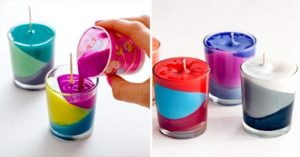 12 easy handmade candle ideas