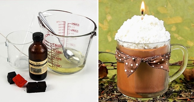 12easy handmade candle ideas